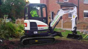 New Bobcat E26 Mini Digger.
