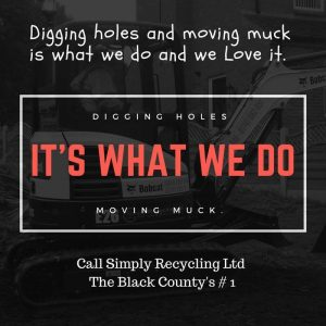 Digging holes and moving muck, it's what we do.