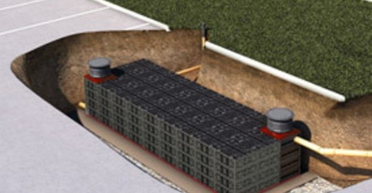 Storm water attenuation